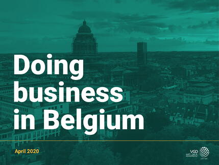 Doing Business In Belgium - cover