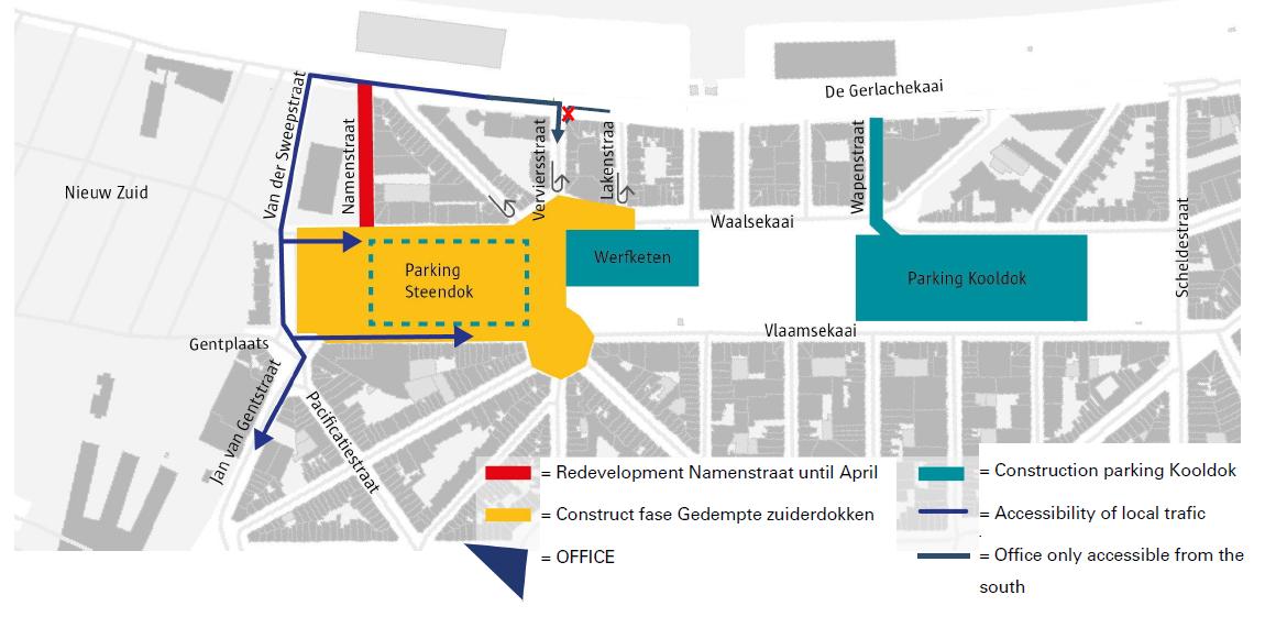 Verkeerssituatie Antwerpen