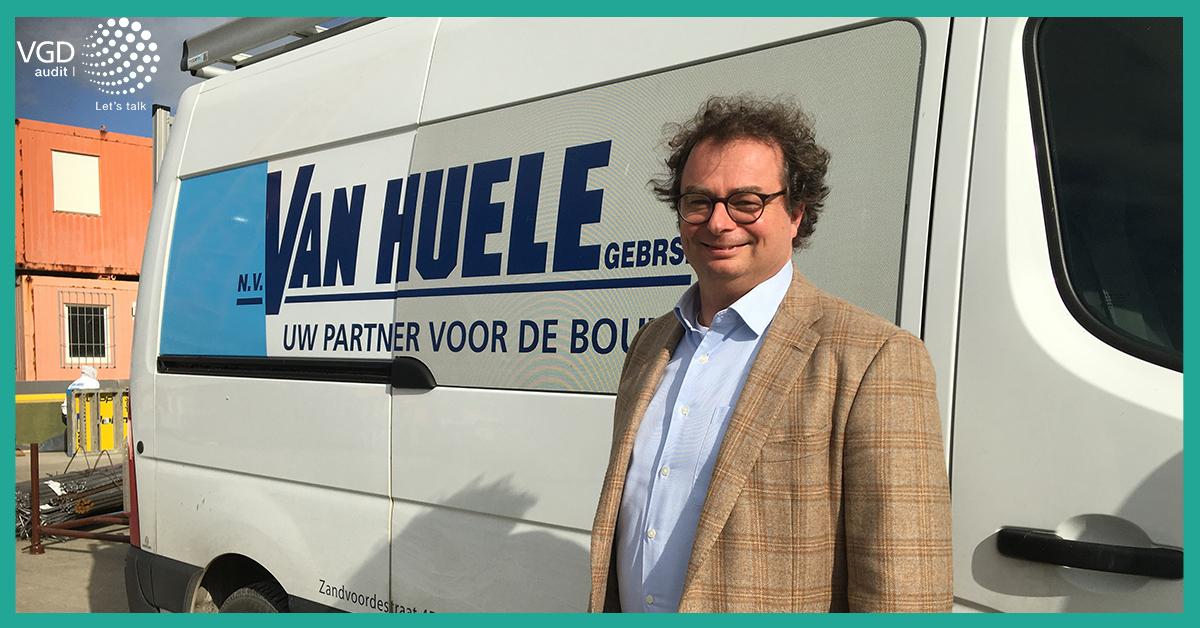 """Xavier Van Huele: """"VGD is onze bedrijfsrevisor met een plus"""""""
