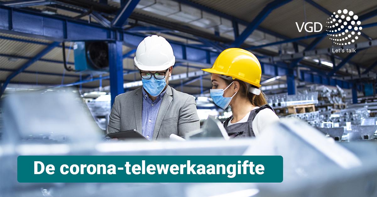 De corona-telewerkaangifte: hoe werkt het systeem nu juist?