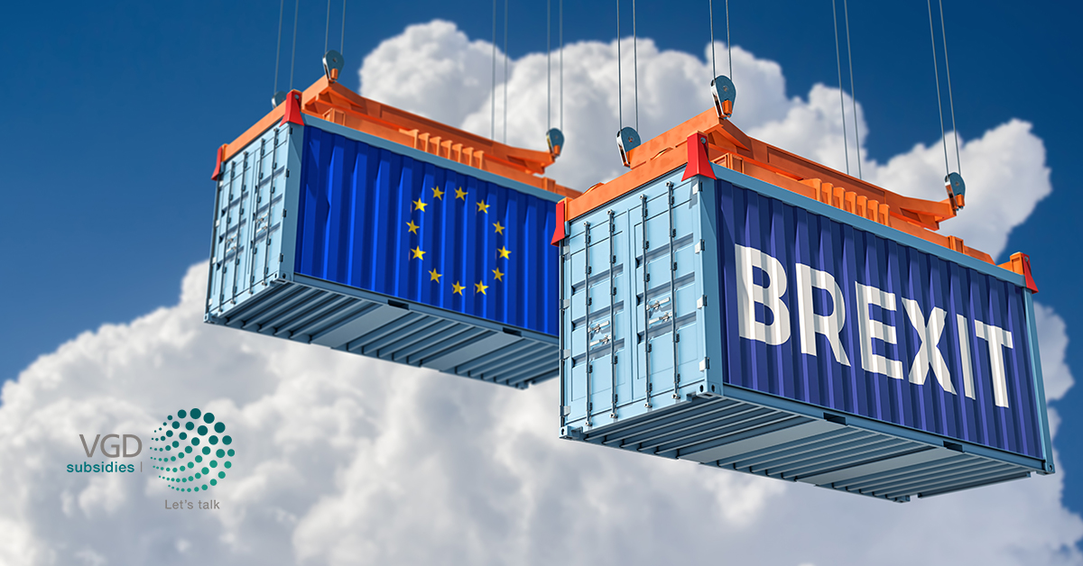 Ondervind je impact van Brexit? Denk aan de Brexit Veerkrachtsubsidie!